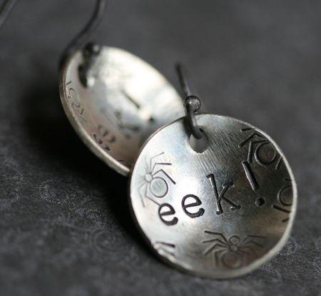 Eek!-earrings