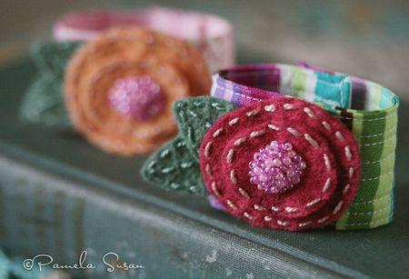 Posy-bracelet-fabric-cuff