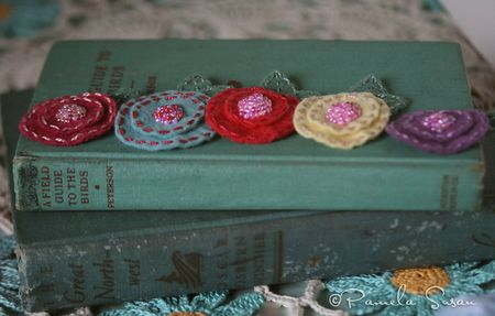 Felt-flower-hairclips-group