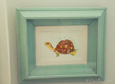 Girls-bedroom-katie-daisy-we-are-all-magnificent-creatures-turtle-print-9