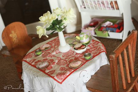 Playroom-tea-party-table