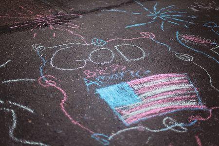 4th-of-july-chalk-art-God-bless-america