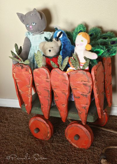 Playroom-carrot-wagon